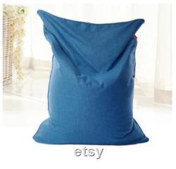 2022 Medium large sandalye chair puff sofa lazy bag tatami beanbag for adults Bean Bag Chairs