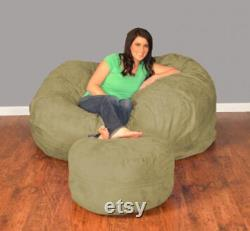 5FT Bean Bag Chair With Liner And Filling
