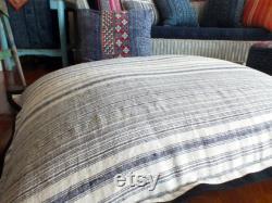 Adult Lounge Bean Bag Chair, White Grey Large Lounger Bean Sacks, Daybed Cushion, Giant Floor Pillow, Teen Beanbag Chair,Bean Bag Cushions