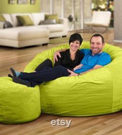 BIG FRANK Living room Home décor Furniture 8 ft. Bean bag Cover Only