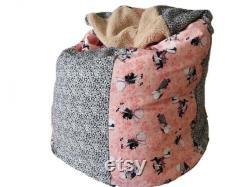 Baby pillow girl with cap, child seat bag 24