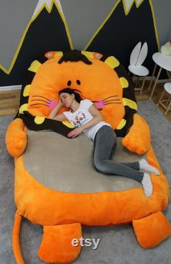 Bean Bag Bed Lion Kids Bean Bag Adult Bean Bag Floor Pillow Large Size Bean Bag Chair