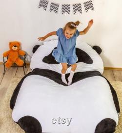 Bean Bag Bed Panda Kids Bean Bag Adult Bean Bag Floor Pillow Large Size Bean Bag Chair
