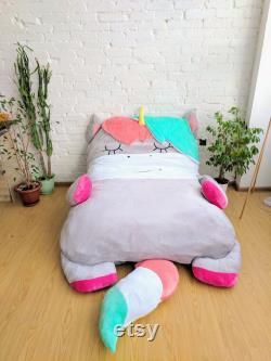 Bean Bag Bed Unicorn Kids Bean Bag Adult Bean Bag Floor Pillow Large Size Bean Bag Chair