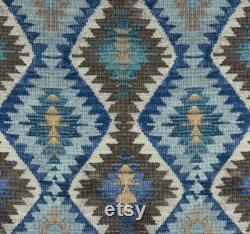 Bean Bag Cover, Afghan Bean Bag, Tribal, Southwestern, Bohemian Style Earthy Tones Decor