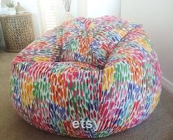 Bean Bag Cover, Kids, Teenagers, Adults, Bean Bag Cover Make it Rain, Pink, Girls Bean Bag, Bean Bag, Birthday Gifts, Christmas Gifts