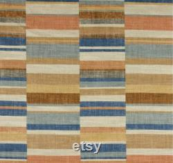 Bean Bag, Linen Bean Bag, Earthy Tones, Parallel Lines Bean Bag Cover. Brown, Tan, Mustard, Grey. Cover Only