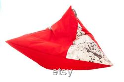Beanbag Seat cushion Floor cushion XL NEW Cushion for boy and girl 100cm x 115cm Lying cushion