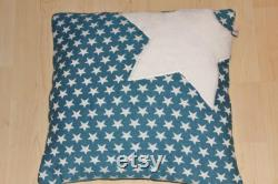 Beanbag pyramid petrol stars . in different sizes and colors . Handmade