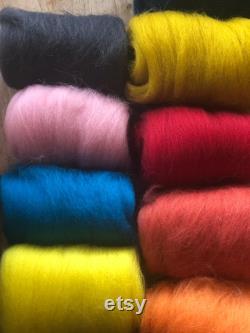Big wool hand knit ottoman