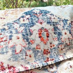 Brand New Removable Bean Bag Cover with Handwork, Modern Cotton Printed Bean Bag Chair