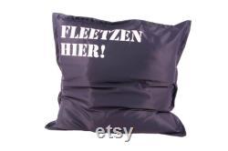 CANENYA Beanbag Fleetzen floor cushion XL NEW 92cm x 92cm cushion cushion for children relax cushion couch cushion for boys and girls