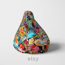 Candy Is Dandy Bean Bag Woody Batts Candy Bean Bag Designer Bean Bag