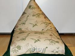 Children's beanbag DINOS . manual work.