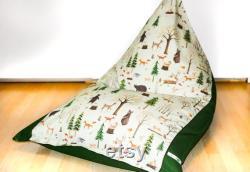 Children's beanbag WALDTIERE