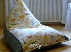 Children's beanbag ZOOTIERE . Handmade.