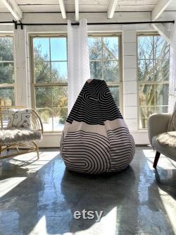 Contemporary Bean Bag Chair TATA -