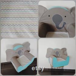 Elephant club chair