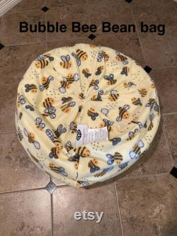 Fully Assembled Bubble Bee Bean Bag Chair