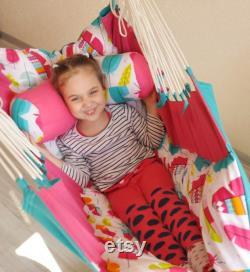 Hammock Kids Baby Hammock Pendant Chair Swing Hammock Children's furniture Child chair Nursery Decor Baby Shower Gift