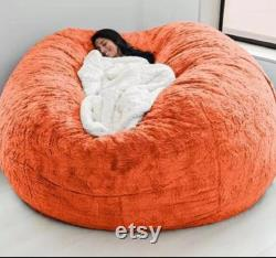 Handmade bean bag cover 7ft worm and cozy