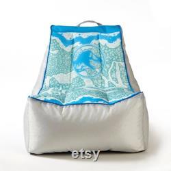 Jurassic World 3 Kids Gaming Bean Bag Chair with Pocket