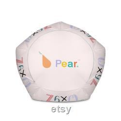 KIDS Pear Bag Alphabetime Bean Bag Chair www.pearbag.co