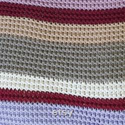 Knitted bean bag colours, pouf Seat, Crochet Pouf, ottoman