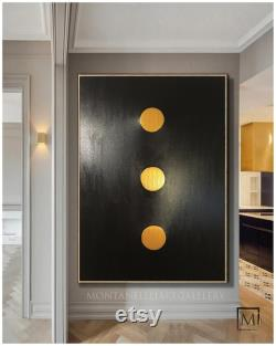 Large Abstract Painting Big Fine Art Modern Contemporary 100 Original Painting On Canvas Montanelli Gallery Minimalist Texture 3D Luxury