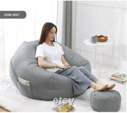 Lazy Sofa Bean Bag Small Apartment EPS No Smell Single Bedroom Tatami Couches for Living Room Single Sofa Bed
