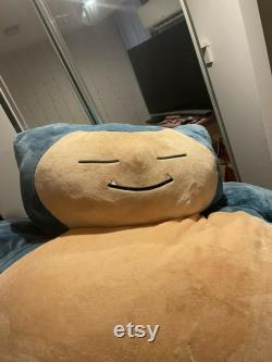 MELBOURNE PICKUP ONLY Enormous Snorlax Pokémon Bean Bag Plush Stuffed Toy Pillow Jumbo Large Discontinued