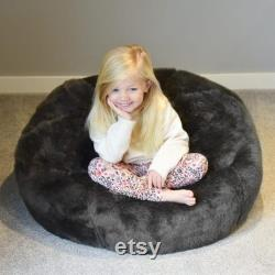 Mini-Slouch beanbag faux fur