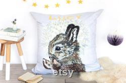 Personalised Rabbit Bean Bag