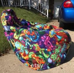 Personalized Bean Bag Chair All-Over Print Bean Bag Chair with filling Custom Bean Bag Chair Bean Bag Gift For Her