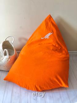 Personalized Beanbags, Lounge Chairs, Bean bag chair Footstool Adult