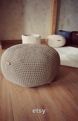 Pouf 20'', pouf ottoman, pouf cover, pouffe, pouf chair, pouf coffee table, pouf custom, nursery decor, handmade gifts