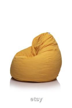 Round chair, Bean chair, Pouf chair, Outdoor pouf chair, Pouf beanbag, Washable pouf chair, Memory chair, no-toxic, Garden Furniture