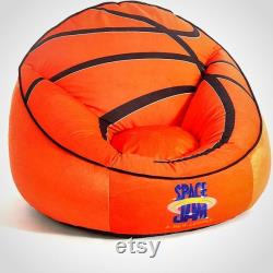 Space Jam Bean Bag, Basketball Bean Bag, Basketball Space Jam Bean Bag