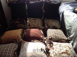 The Cowboy Way Pillow Bed 18 Squares of Country