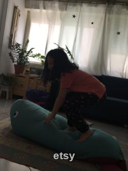 Whale, beanbag pouf plush toy lounge and gaming chair