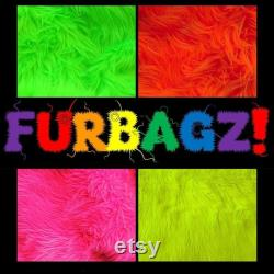 XL FUBAGZ Loveseat, 5ft. (Complete, Memory foam stuffed Furry Beanbag Chair)