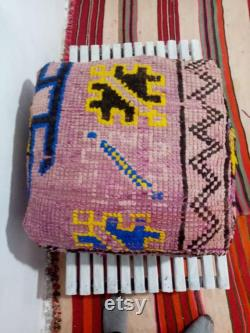 hand made ' Moroccan pouf' berber pouf