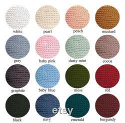 knitted PUFF MI floor cushion beanbag